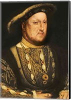 Portrait of Henry VIII C Fine-Art Print