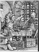 Death and the Rich Man Fine-Art Print