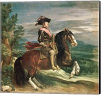 Equestrian Portrait of Philip IV Fine-Art Print