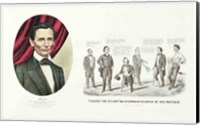 Hon. Abraham Lincoln, 16th President of the United States, 1860 Fine-Art Print