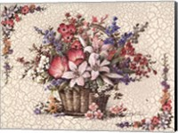 Basket with Lilies Fine-Art Print