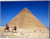 Giza Pyramids, Giza, Egypt Fine-Art Print