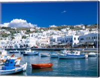 Town View, Mykonos, Cyclades Islands, Greece Fine-Art Print
