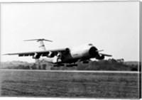 Military airplane taking off, C-5 Galaxy Fine-Art Print