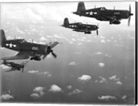 Fighter planes in flight, US Marine Corps Fine-Art Print