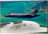First F-35 Headed for USAF Service Fine-Art Print