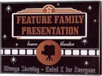Feature Presentation Fine-Art Print