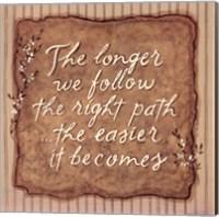 Right Path Fine-Art Print