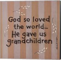 God So Loved Fine-Art Print