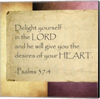 Delight Yourself in the Lord Fine-Art Print