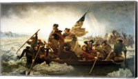 Washington Crossing the Delaware by Emanuel Leutze, MMA-NYC, 1851 Fine-Art Print