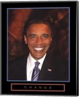 Obama - Change Fine-Art Print