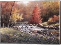 Flowing Stream Fine-Art Print