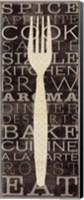Kitchen Words I Fine-Art Print