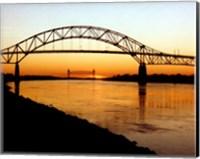The Bourne Bridge over the Cape Cod Canal Fine-Art Print
