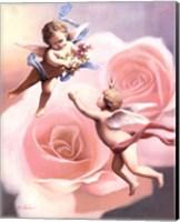 Cherubs' Rose Fine-Art Print