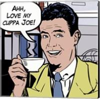 Java comic II - mini Fine-Art Print
