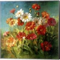 Painted Daises Fine-Art Print