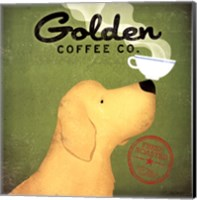 Golden Dog Coffee Co. Fine-Art Print