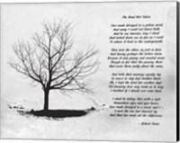 Robert Frost The Road Not Taken Fine-Art Print