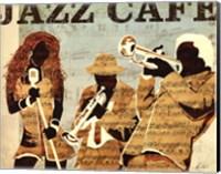 Jazz Cafe Fine-Art Print