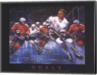 Hockey - Goals Fine-Art Print