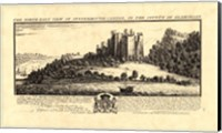 Vintage Oystermouth Castle Fine-Art Print