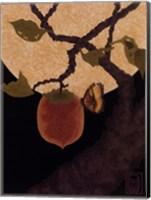 Moon, Persimmon and Moth Fine-Art Print