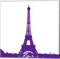 Purple Eiffel Tower Fine-Art Print