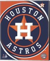 2012 Houston Astros Team Logo Fine-Art Print