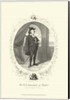 Hamlet - oval Fine-Art Print