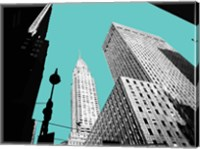 New York on Blue Fine-Art Print