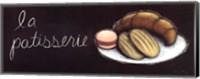 Chalkboard Menu II- Patisserie Fine-Art Print
