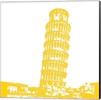 Pisa in Yellow Fine-Art Print