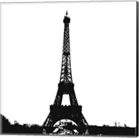 Black Eiffel Tower Fine-Art Print