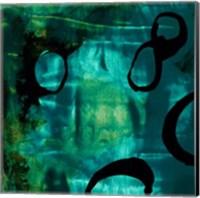 Turquoise Element I Fine-Art Print