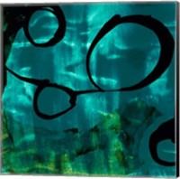 Turquoise Element II Fine-Art Print