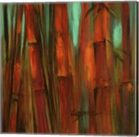 Sunset Bamboo II Fine-Art Print
