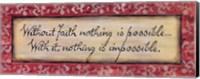 Without Faith Fine-Art Print