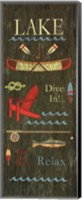 Lake House Fine-Art Print