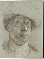 Self-Portrait Wearing a Cloth Hat Fine-Art Print