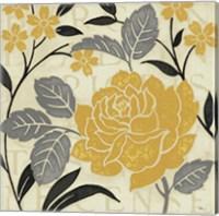 Perfect Petals II Yellow Fine-Art Print
