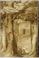 La Verna: The Chapel of the Blessed Giovanni della Verna Fine-Art Print