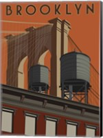 Brooklyn Travel Poster Fine-Art Print