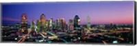 Night, Dallas, Texas, USA Fine-Art Print