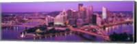 Dusk, Pittsburgh, Pennsylvania, USA Fine-Art Print