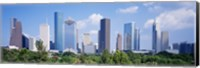 Houston Skyline, Texas Fine-Art Print