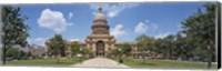 Facade of a government building, Texas State Capitol, Austin, Texas, USA Fine-Art Print
