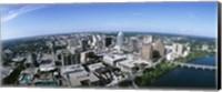Aerial view of a city, Austin,Texas Fine-Art Print