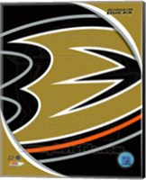 Anaheim Ducks 2013 Team Logo Fine-Art Print